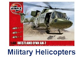 Airfix Military Aircraft Helicopter Kits
