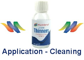 Humbrol Application & Cleaning Products