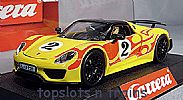Carrera CA-27599 PORSCHE 918 SPYDER HIPPY CAR NO 2