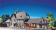 Faller 110116 OO/HO Scale Model Kit SCHWARZBURG TRAIN STATION