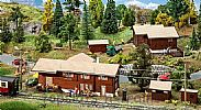 Faller 110127 OO/HO Scale Model Kit STUGL-STULS STATION SET