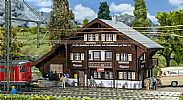 Faller 110129 OO/HO Scale Model Kit LITZIRUTI STATION BUILDING