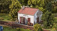 Faller 110202 OO/HO Scale Model Kit STAMPERIA STATION HALT - WEATHERED FINISH