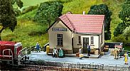 Faller 110203 OO/HO Scale Model Kit WALDHAUSEN STATION / BREAKPOINT