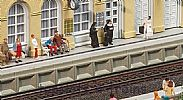 Faller 120100 OO/HO Scale Model Kit MODERN STATION PLATFORM AND ACCESSORIES