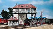 Faller 120125 OO/HO Scale Model Kit OVERHEAD SIGNAL TOWER III