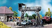 Faller 120127 OO/HO Scale Model Kit GANTRY CRANE - IN TIMBER CONSTRUCTION