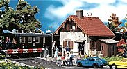 Faller 120130 OO/HO Scale Model Kit GATEKEEPERS LODGE - WITH ATTACHED SHED