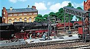 Faller 120149 OO/HO Scale Model Kit CINDER PLANT - WITH GANTRY CRANE