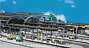 Faller 120191 OO/HO Scale Model Kit 2 X COVERED PLATFORMS - FOR ALL TRACK TYPES