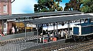 Faller 120204 OO/HO Scale Model Kit 2 X COVERED PLATFORMS - CAST IRON