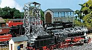 Faller 120220 OO/HO Scale Model Kit COAL LIFT - WITH ATTACHED ENGINE HOUSE