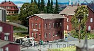 Faller 120235 OO/HO Scale Model Kit DB ADMINISTRATION BUILDING - CLINKER CONSTRUCTION
