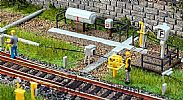 Faller 120264 OO/HO Scale Model Kit TURNOUT HEATING UNITS - WITH ACCESSORIES