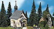 Faller 130237 OO/HO Scale Model Kit ST BERNHARD CHAPEL - WITH SMALL BELL TOWER
