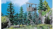 Faller 130290 OO/HO Scale Model Kit HUNTERS PERCH / HUNTERS LOOKOUT TOWER