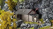 Faller 130292 OO/HO Scale Model Kit BOTHY - MOUNTAIN REFUGE