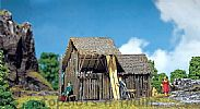 Faller 130294 OO/HO Scale Model Kit LOG BARN