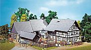 Faller 130370 OO/HO Scale Model Kit HALF-TIMBERED FARM SET