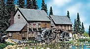 Faller 130388 OO/HO Scale Model Kit HEXENLOCH WATER MILL - WITH MOTORS