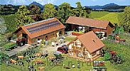 Faller 130520 OO/HO Scale Model Kit BREEDING FARM - WITH RESIDENTIAL HOUSE