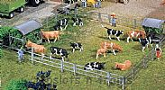 Faller 130526 OO/HO Scale Model Kit 4 X MANGERS / PASTURE FEED RACKS