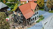 Faller 130533 OO/HO Scale Model Kit FARMHOUSE UNDER RENOVATION