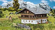 Faller 130554 OO/HO Scale Model Kit ALPINE FARM