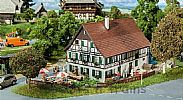 Faller 130556 OO/HO Scale Model Kit FARMHOUSE WITH INN- ERA I
