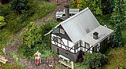 Faller 130570 OO/HO Scale Model Kit FOREST LOG CABIN - LASER CUT