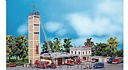 Faller 130989 OO/HO Scale Model Kit MODERN FIRE STATION
