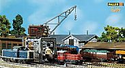 Faller 131370 OO/HO Scale Model Kit HOBBY SERIES - GANTRY CRANE