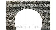 Faller 170831 OO/HO Scale Decorative Panel TUNNEL PORTAL - DOUBLE TRACK FOR STEAM/CATENARY