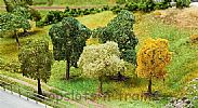 Faller 181171 OO/HO Scale Trees 5 X ASSORTED PREMIUM TREES - 70 - 100 mm