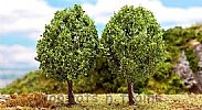 Faller 181219 OO/HO/N Scale Trees 2 X PREMIUM SMALL ELM TREES - 95 mm