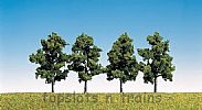 Faller 181402 OO/HO/N Scale Trees 4 X FRUIT TREES - 60 mm