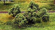 Faller 181404 OO/HO Scale Trees 5 X APPLE TREES - 55 mm