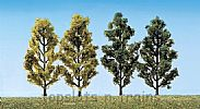 Faller 181405 OO/HO Scale Trees 2 X BIRCH TREES AND 2 X POPLAR TREES