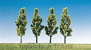 Faller 181423 OO/HO/N Scale Trees 4 X BIRCH TREES - 90 mm