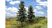 Faller 181528 OO/HO Scale Trees 2 X FIR TREES / 110 mm and 140 mm