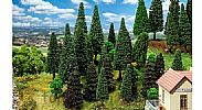 Faller 181530 OO/HO Scale Trees 30 X MIXED FOREST TREES / 50 - 120 mm