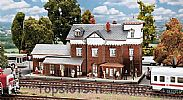 Faller 191717 OO/HO Scale Model Kit NIEDER-RAMSTADT-TRAISA TRAIN STATION