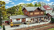 Faller 191730 OO/HO Scale Model Kit ST NIKLAUS TRAIN STATION