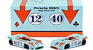 Nsr-SET09 Limited Edition GULF PORSCHE 908/3 TARGA FLORIO 1970 TWIN SET