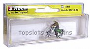 Noch 15914 OO/HO Scale Classic Bikes KREIDLER FLORETT RS MOTORBIKE - WITH RIDER
