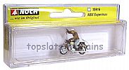 Noch 15916 OO/HO Scale Classic Bikes NSU SUPERMAX MOTORBIKE - WITH RIDER