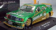Slot.It SI-CA44A MERCEDES 190E ZOLDER DTM 1992 KURT THIM