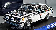 Teamslot TS-12703 FORD ESCORT RS2000 MK2 BRITAIN 1973 ARI VATANEN