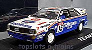 Teamslot TS-12304 AUDI QUATTRO A2 YPRES RALLY 1986 ROTHMANS