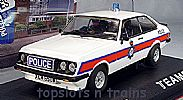 Teamslot TS-SRE12 FORD ESCORT RS2000 MK2 POLICE SLOT CAR LTD